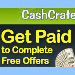 Make money online from CashCrate you can try