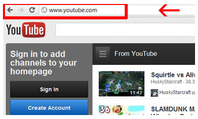 How To Create A You Tube Account