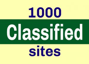 Free Top 1000 Classified Ad Sites List-2018 With High PR