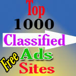 Free top 1000 Classified Ad sites list-2015 with high PR