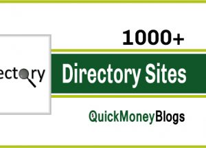 1000+ High PR Free Directory Submission Site List-2018