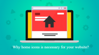 Why Home icons is necessary for your website!