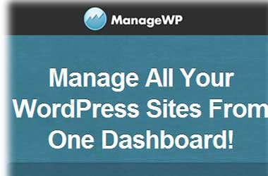 How to manage your all wordpress sites from one dashboard?