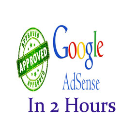 How To Get Approved Google Adsense Within 2 Hours